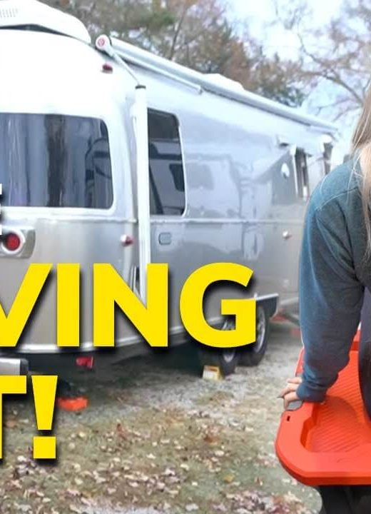 Moving Out of Our Airstream
