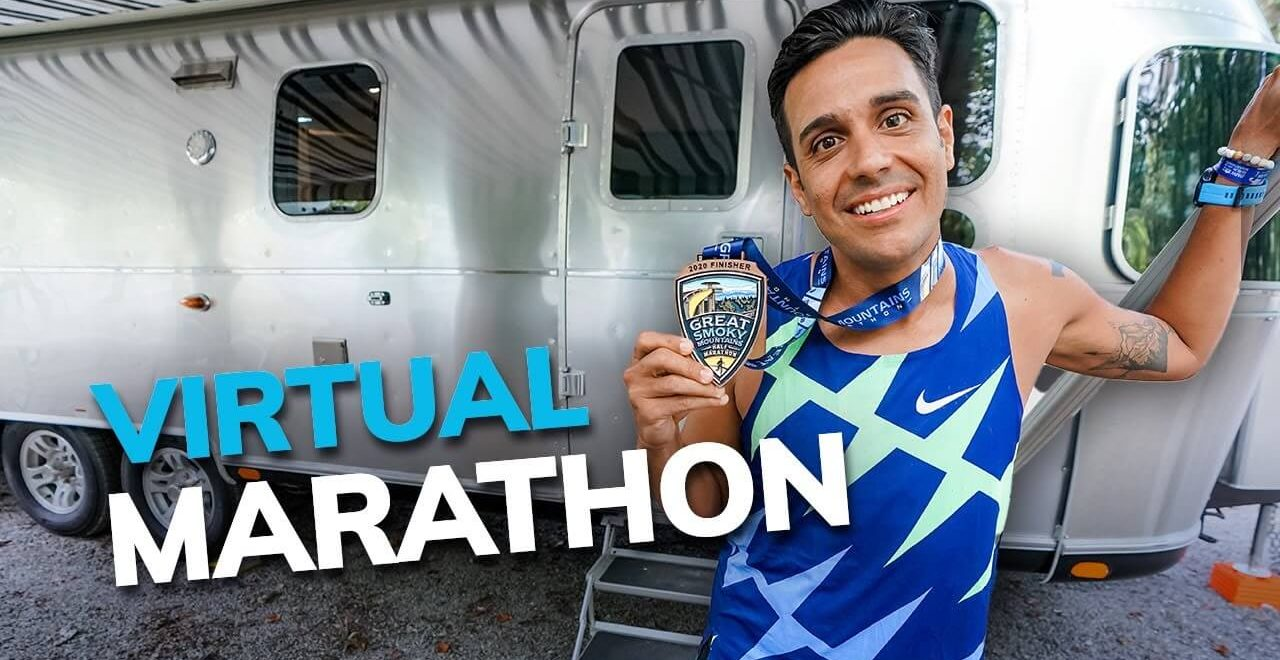 Daniel Runs the Boston Marathon Virtually